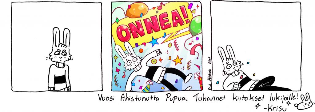 Vuosi Ahistunutta Pupua!